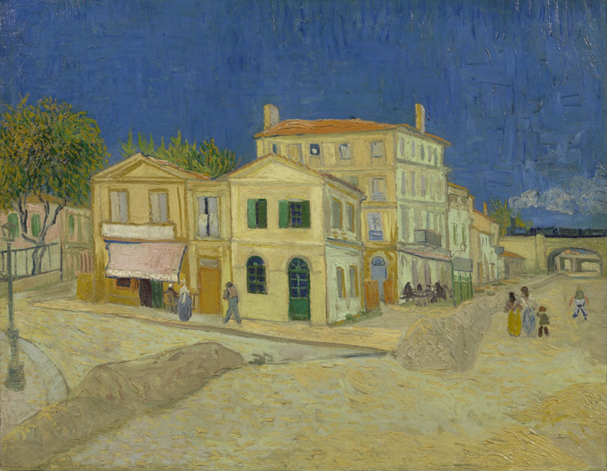 The yellow house, Arles, France | Van Gogh Route
